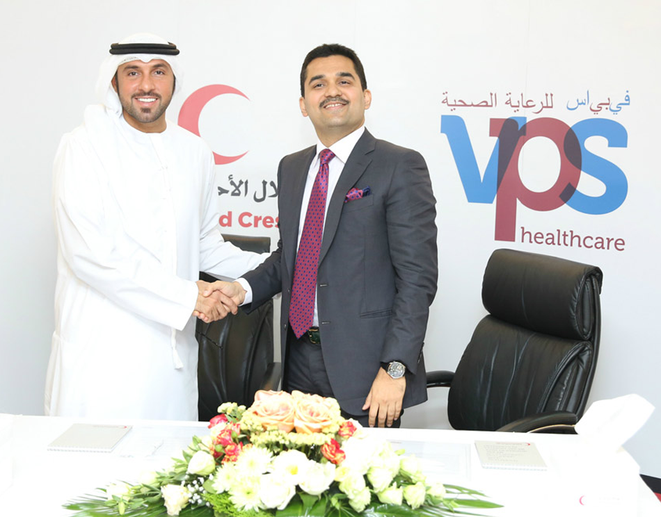 VPS Healthcare donates $ 1 Million to Emirates Red Crescent as part of UAE's Year of Giving